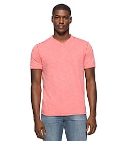 Calvin Klein Jeans® Men's Acid Washed Short Sleeve V-Neck Tee