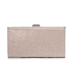 La Regale® Oversized Shimmer Textured Minaudiere
