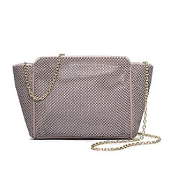 La Regale® Mesh Zip Top Crossbody
