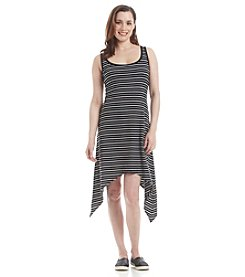 Marc New York Performance Sharkbite Stripe Dress