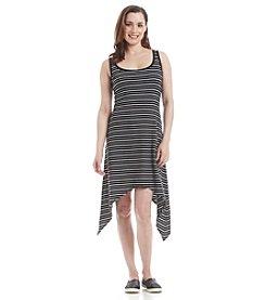 Marc New York Performance Sharkbite Stripe Dress