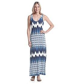 Karen Kane® Chevron Maxi Dress