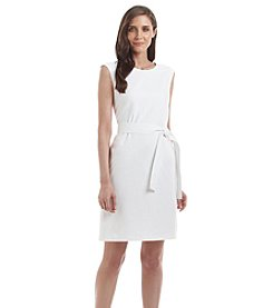 Nine West® Self Belt Dress
