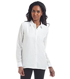 Calvin Klein Window Panel Blouse