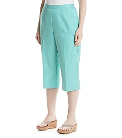 Alfred Dunner® Plus Size Acapulco Solid Capri