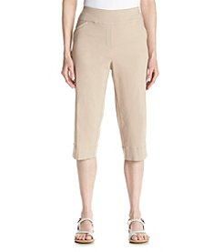 Alfred Dunner® Feels Like Spring Solid Capris