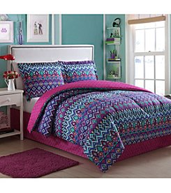 LivingQuarters Violette 4-pc. Comforter Set