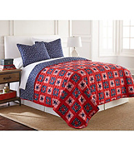 LivingQuarters Star Spangled 3-pc. Quilt Set