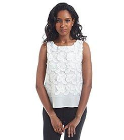 Calvin Klein Textured Shell Top