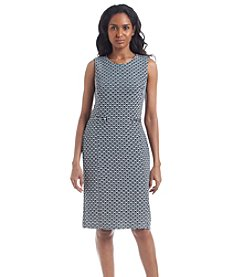Calvin Klein Jacquard Printed Dress