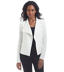 Calvin Klein Fly Away With Zippers Blazer