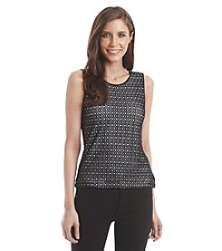 Vince Camuto® Mesh Lace Top