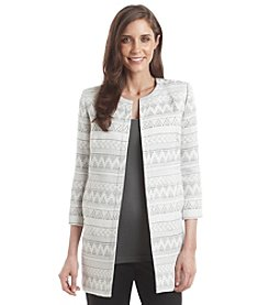 Ivanka Trump® Geometric Printed Jacket