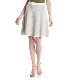 Ivanka Trump® Geometric Pattern Skirt