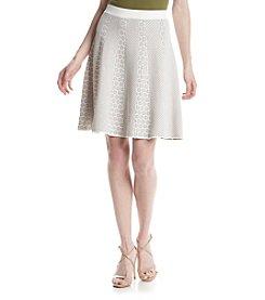Ivanka Trump® Geometric Pattern Skirt