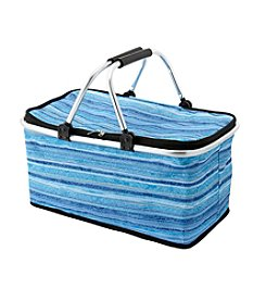 LivingQuarters Lake Collection Stripe Tote