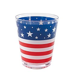 LivingQuarters Americana Collection Double Old Fashioned Glass