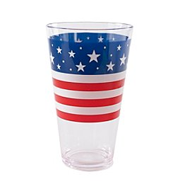 LivingQuarters Americana Collection Highball Glass