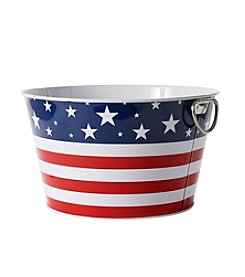 LivingQuarters Americana Collection Beverage Tub