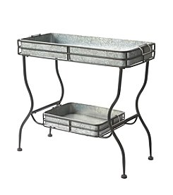 LivingQuarters Lake Collection Metal Table