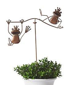 LivingQuarters Frog Wind Balancer