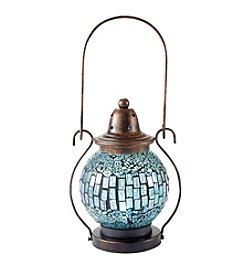 LivingQuarters Mosaic Kaleidoscope Solar Lantern