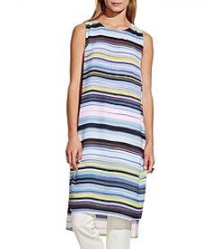 Vince Camuto® Stripe Enlightment Long Tunic