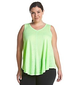 Calvin Klein Performance Plus Size Icy Solid Tank