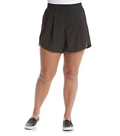 Calvin Klein Performance Plus Size Solid Commuter Shorts