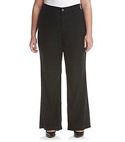NYDJ® Plus Size Claire Linen Trouser Pants