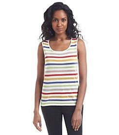 Anne Klein® Striped Sweater Cami