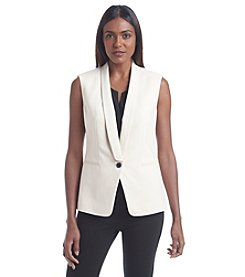 Anne Klein® One Button Vest