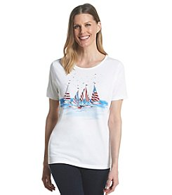 Breckenridge Embellished Crew Neck Tee