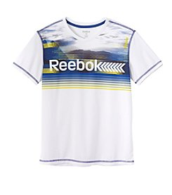 Reebok® Boys' 4-7 Short Sleeve Linear Logo Active Tee