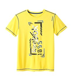 Reebok® Boys' 4-7 Short Sleeve Logo Active Tee