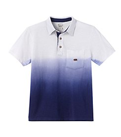Lucky Brand® Boys' 8-20 Short Sleeve Wave Dipped Polo