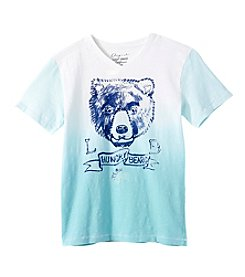 Lucky Brand® Boys' 2T-8 Short Sleeve Hungry Bears Printed Tee