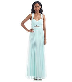 Betsy & Adam® Pleated Gown