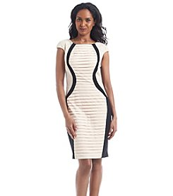 JAX® Textured Sheath Dress