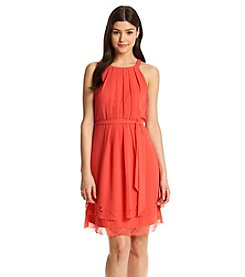 Jessica Simpson Lasercut Popover Dress
