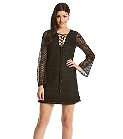 Jessica Simpson Lace Shift Dress
