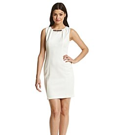 Jessica Simpson Scuba Sheath Dress