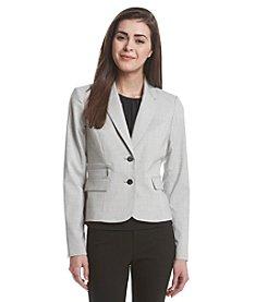 Calvin Klein Petites' Plaid Jacket