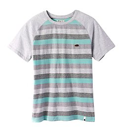 Lucky Brand® Boys' 2T-7 Short Sleeve Striped Raglan Tee