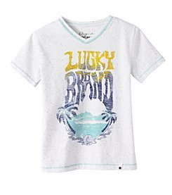 Lucky Brand® Boys' 2T-7 Short Sleeve Clifside Printed Tee