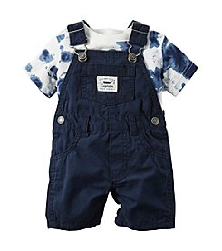 Carter's® Baby Boys Tie-Dye Tee And Shortalls Set
