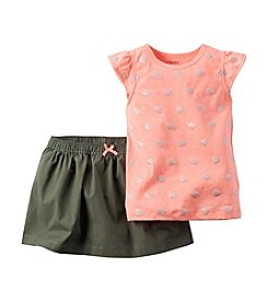 Carter's® Baby Girls' Angel Fish Printed Tee And Scooter Set