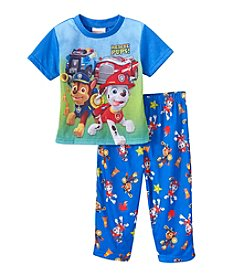 Nickelodeon® Boys' 2T-4T 2-Piece Paw Patrol Printed Pajama Set