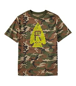 Ralph Lauren Childrenswear Boys' 8-20 Short Sleeve Camo Printed Tee