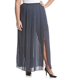 MICHAEL Michael Kors® Plus Size Alston Pleated Maxi Skirt